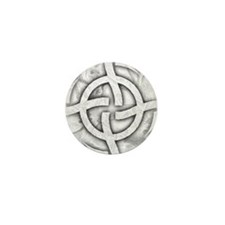 Cosmic Wheel Grey Mini Button (100 pack)