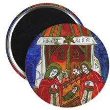 "Eastern Orthodox Church 2.25"" Magnet (10 Magn"