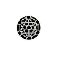 Tree of Wyrd Black Mini Button (100 pack)