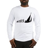 Evolution of sailing Long Sleeve T-shirts