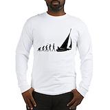Sailing evolution Long Sleeve T-shirts