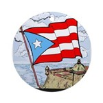 Round OrnamentNuestra Bandera