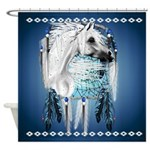 Leopard Appy and Dreamcatcher Shower Curtain