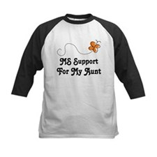 Support Aunt MS Butterfly Tee