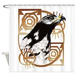 Pillow-A Bird Of The Serengeti.png Shower Curtain