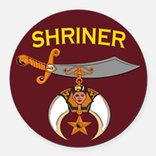 Shriners Car Magnet