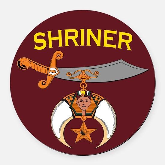 Shriners Car Magnet
