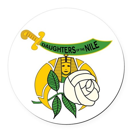 Daughters of the Nile Car Magnet
