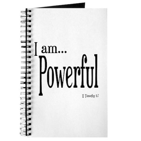 I am Powerful II Timothy 1:7 Journal