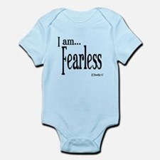 I am Fearless II Timothy 1:7 Infant Bodysuit