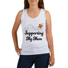Support Mom Orange Awareness Women's Tank Top