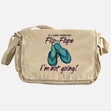 Flip-Flops Messenger Bag