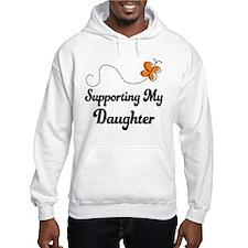 Support Daughter Orange Awareness Jumper Hoody
