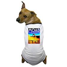 Moab, Utah Rock Climbing Para Dog T-Shirt