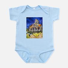 Van Gogh Church At Auvers Infant Bodysuit