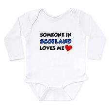 Someone In Scotland Loves Me Onesie Romper Suit