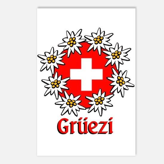 Gruezi Postcards (Package of 8)