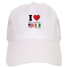 USA-IVORY COAST Baseball Cap