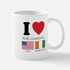 USA-IVORY COAST Mug