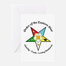 Eastern Star Greeting Cards (Pk of 20)