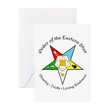 Eastern Star Greeting Card