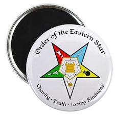 "Eastern Star 2.25"" Magnet (100 pack)"