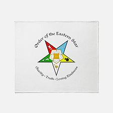 Eastern Star Throw Blanket