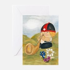 Alpine Sepp Greeting Cards (Pk of 10)