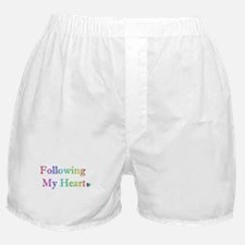Following My Heart (Rainbow) Boxer Shorts