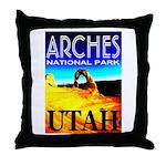 Arches National Park, Utah Throw Pillow