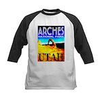 Arches National Park, Utah Kids Baseball Jersey