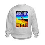 Arches National Park, Utah Kids Sweatshirt