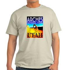 Arches National Park, Utah Ash Grey T-Shirt