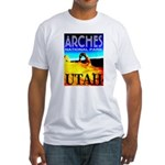 Arches National Park, Utah Fitted T-Shirt