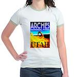 Arches National Park, Utah Jr. Ringer T-Shirt