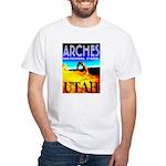 Arches National Park, Utah White T-Shirt