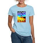 Arches National Park, Utah Women's Pink T-Shirt
