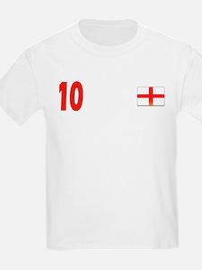 Hurst 10 England Kids Shirt