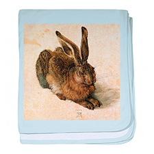 Albrecht Durer Young Hare baby blanket