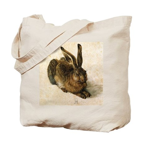 Albrecht Durer Young Hare Tote Bag