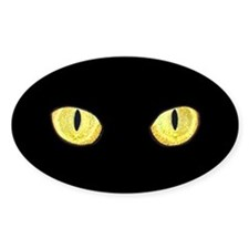 Amber Cat Eyes Decal