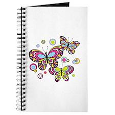 Colorful Butterflies Journal