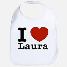 I Love Laura Bib