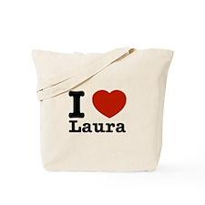 I Love Laura Tote Bag
