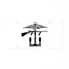 SOG - B Aluminum License Plate