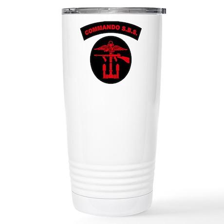 Commando S.B.S. Stainless Steel Travel Mug