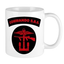 Commando S.B.S. Mug
