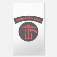 Commando S.B.S. Decal