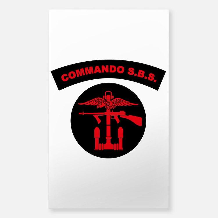Commando S.B.S. Decal