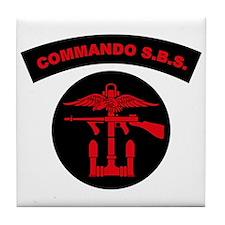 Commando S.B.S. Tile Coaster